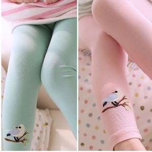 Toddler Kids Girl Candy Pink Cotton Leggings